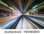 business concept   high speed... | Shutterstock . vector #785483845