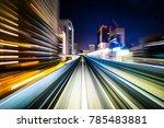 business concept   high speed... | Shutterstock . vector #785483881