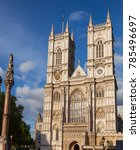 Western Facade Of Westminster...