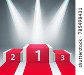 pedestal for winners   business ...   Shutterstock .eps vector #785498431