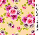 abstract elegance seamless... | Shutterstock .eps vector #785500255