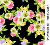 abstract elegance seamless...   Shutterstock .eps vector #785500354