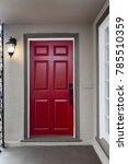 red entry door   front door... | Shutterstock . vector #785510359