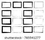 vector frames. rectangles for... | Shutterstock .eps vector #785541277