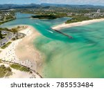 currumbin and palm beach from... | Shutterstock . vector #785553484