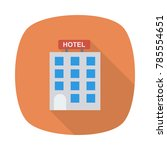 hotel icon | Shutterstock .eps vector #785554651