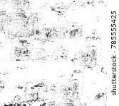 black white grunge pattern.... | Shutterstock . vector #785555425