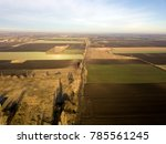 aerial photo of countryside.... | Shutterstock . vector #785561245