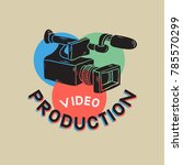 video production rgb layered... | Shutterstock .eps vector #785570299