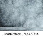 gray metal room | Shutterstock . vector #785573515