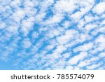 Small photo of Altocumulus cloud background