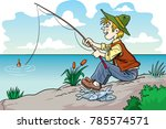 the illustration shows a... | Shutterstock .eps vector #785574571