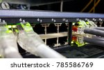 network switch and ethernet... | Shutterstock . vector #785586769
