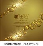 beauty skin care design over... | Shutterstock .eps vector #785594071