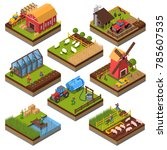 agricultural compositions... | Shutterstock . vector #785607535