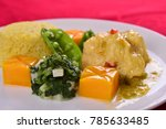chinese western cuisine chinese ... | Shutterstock . vector #785633485