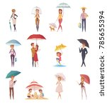 adults people and children... | Shutterstock . vector #785655394