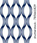 geometric seamless pattern ... | Shutterstock .eps vector #785661829