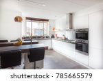 kitchen in modern home | Shutterstock . vector #785665579