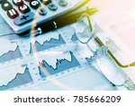 economy and financial... | Shutterstock . vector #785666209