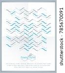 technological vector wallpaper... | Shutterstock .eps vector #785670091