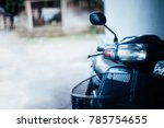 the motorbike in the house   Shutterstock . vector #785754655