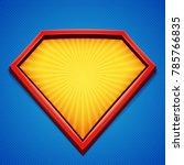 superhero background. superhero ... | Shutterstock .eps vector #785766835
