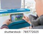 zhongshan china december 30 ...   Shutterstock . vector #785772025