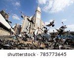 mecca  saudi arabia  dec13  ... | Shutterstock . vector #785773645
