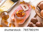 natural source of vitamin d in... | Shutterstock . vector #785780194