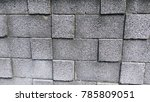 wall with brick background | Shutterstock . vector #785809051
