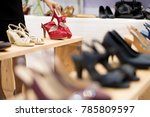 shopping in the fashion... | Shutterstock . vector #785809597