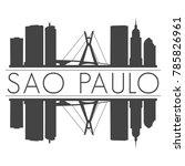 sao paulo brazil america... | Shutterstock .eps vector #785826961