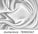 vector luxury realistic silver... | Shutterstock .eps vector #785832367