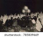 ku klux klan gathered within...   Shutterstock . vector #785839669