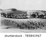 world war 1 in the middle east. ... | Shutterstock . vector #785841967