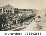 world war 1 in the middle east. ... | Shutterstock . vector #785842855