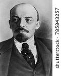 vladimir ilyich ulyanov lenin ... | Shutterstock . vector #785843257