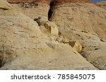red rock canyon   erosion on... | Shutterstock . vector #785845075