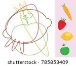 find hidden objects and shapes. ... | Shutterstock . vector #785853409