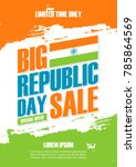 india republic day holiday sale ... | Shutterstock .eps vector #785864569