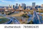 public park in downtown austin   Shutterstock . vector #785882635