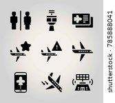 airport vector icon net....   Shutterstock .eps vector #785888041
