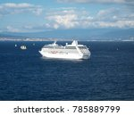 view of a cruise ship in the... | Shutterstock . vector #785889799