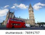 Big Ben With Double Decker ...