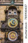 Old Astronomical Clock In The...