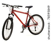 red bicycle | Shutterstock . vector #78595849