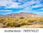 Towards Salton City - stock photo