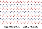 stars and stripes abstract... | Shutterstock .eps vector #785975185