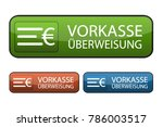 german web button payment in... | Shutterstock .eps vector #786003517